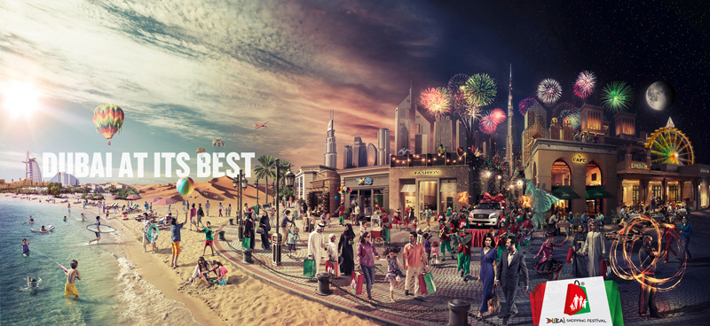 Dubai Shopping Festival David Pham Art Director