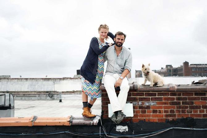 Fanny och Bill Gentel i Brooklyn, hemma-hos-reportage Brooklyn, lägenhet Brooklyn, Petra Bindel, fotograf Petra Bindel, volang blogg, volang elle, inspiration, inredningsblogg 2012, inredningsblogg elle,