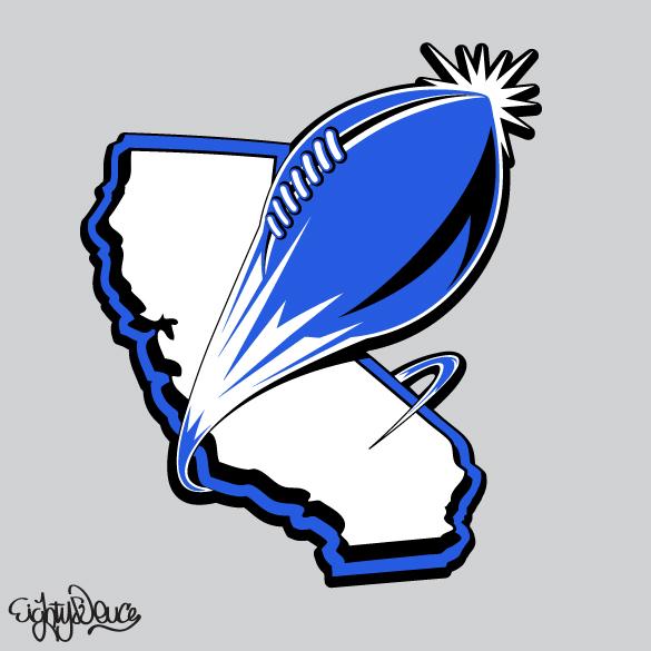 Flag Football Logo Designs football logos - www.eightydeuce.com