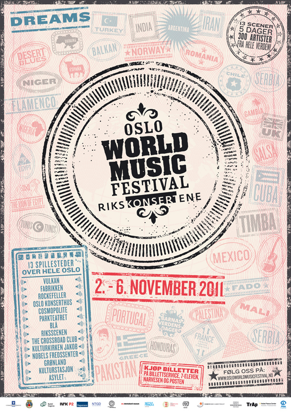 World Music Festival Logo Oslo World Music Festival 2011