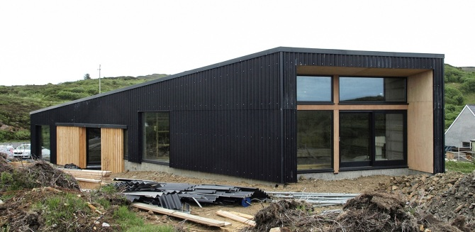 News rural design architects isle of skye and the for Homes built for 100k