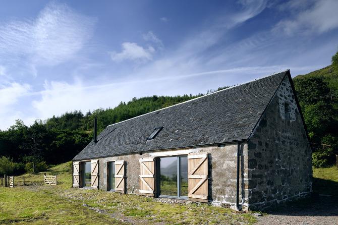 Leachachan barn rural design architects isle of skye for R house design