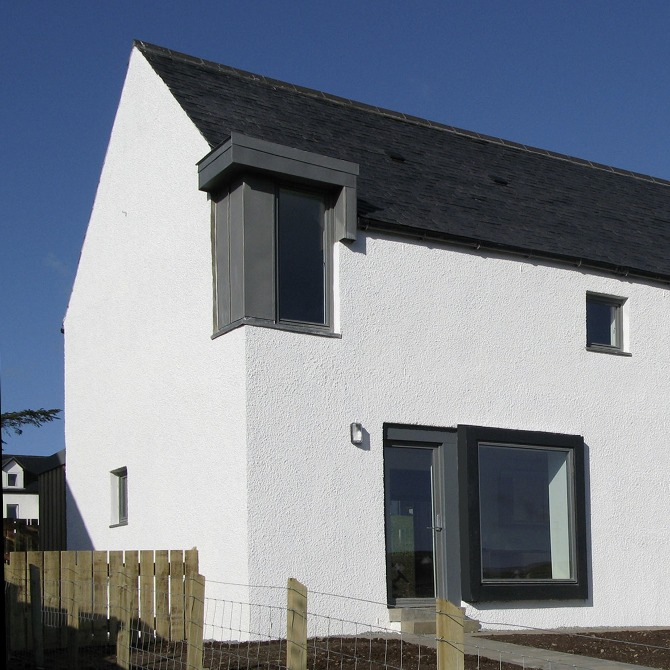 Edinbane rural design architects isle of skye and the for R house design